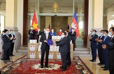 Cambodia grateful for Vietnamese NA's support in fighting COVID-19