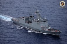 Philippine Navy's first missile-ready warship arrives in Subic