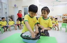Over one million Hanoi students benefit from School Milk Project