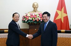 Deputy PM Pham Binh Minh welcomes new Cambodian Ambassador