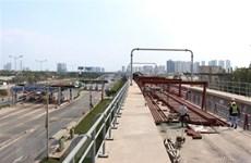 HCM City steps up construction of Ben Thanh - Suoi Tien metro line