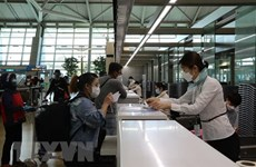 Vietnamese citizens return home from RoK