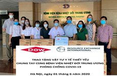 US organisation supports fight against COVID-19