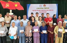 Vice President's humanitarian activities in Quang Nam
