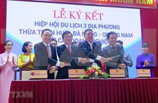 Three central localities agree to jointly revive tourism