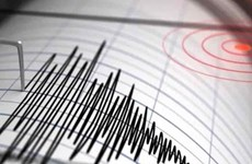 6.8 magnitude quake hits Indonesia