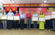 HCM City Red Cross Society honours outstanding blood donors