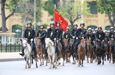Cavalry mobile police force makes debut