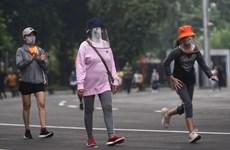Business activities resume in Indonesian capital