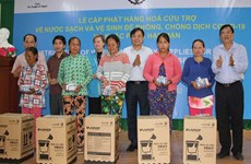 UNICEF in Vietnam presents daily supplies to Ninh Thuan