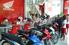 Honda Vietnam's motorcycle, auto sales shoot up in May