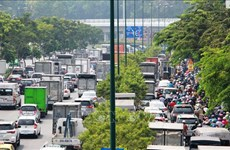 HCM City's transport infrastructure lags behind demand despite huge investment
