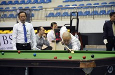 More than 940 players competing in 2020 national billiards, snooker tournament