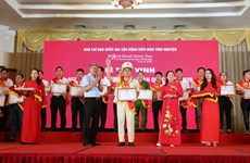 Outstanding blood donors honoured in Hanoi