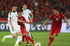 Vietnam invited to play in World Cup preparation match against Iraq