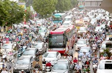 Traffic congestion still a big problem for Hanoi