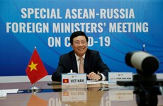 Special ASEAN-Russia Foreign Ministers' Meeting on COVID-19 held