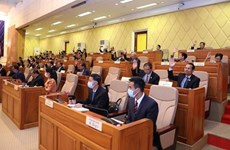 Cambodian Senate adopts draft law on anti-money laundering, terrorist financing combat