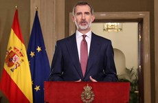 Ambassador presents credentials to King of Spain