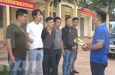 Dak Lak police bust cross-border drug ring, seize 1.8kg of crystal meth