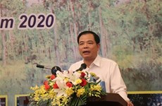 Minister requests efforts for forestry protection, development