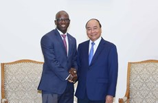 PM receives outgoing WB Country Director