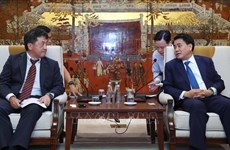 Hanoi, JICA work to ensure projects' progress