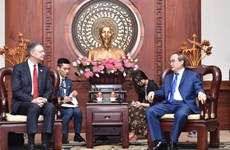 HCM City leader hosts US Ambassador