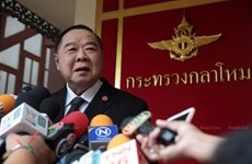 Thai Deputy PM agrees to become leader of ruling Palang Pracharath Party