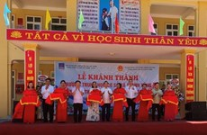 PV GAS sponsors building of secondary school in north-central province