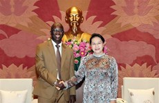 NA Chairwoman hails WB's support for Vietnam