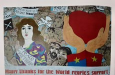 Vintage posters of peace remembered in new book