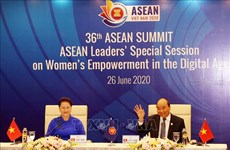 ASEAN leaders debate women's empowerment in digital age