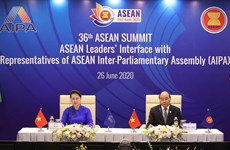 PM, NA Chairwoman attend ASEAN Leaders' Interface with Representatives of AIPA