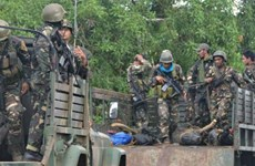 Philippine forces kill four Abu Sayyaf suspects