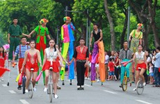 Hanoi promotes destinations to attract visitors