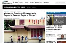 Bloomberg: Vietnam's economy grows unexpectedly in Q2