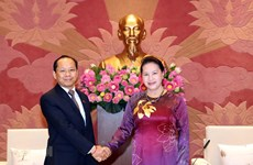NA Chairwoman welcomes new Cambodian Ambassador
