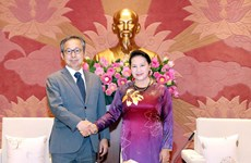 Top legislator receives Japanese ambassador
