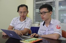 Vietnamese student wins at international film contest
