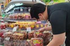 Vietnamese lychees hit shelves in Singapore