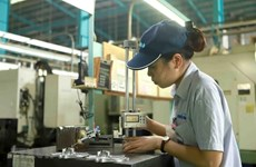 Manufacturing output returns to growth in June