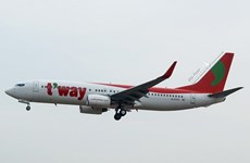 T'way Air to re-open HCM City - Incheon flights