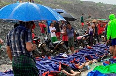 PM sends sympathies to Myanmar leader over jade mine landslide