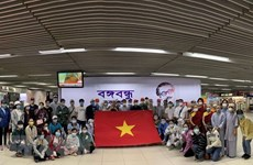 Vietnamese citizens brought home safely from Southwestern Asia