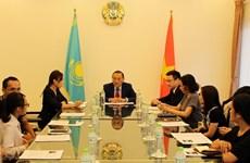 Kazakhstan Ambassador lauds ties with Vietnam