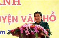 NA Vice Chairwoman, APF delegation visit Son La