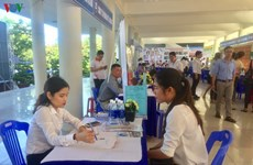 Da Nang job festival draws over 1,000 students, labourers