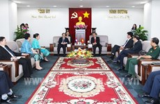 Binh Duong, Lao provinces boost ties