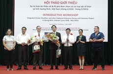 Foreign NGOs join hands to help Quang Binh clear UXO